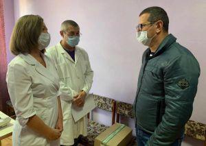 Муса Магомедов зустрівся з лікарями Авдіївки