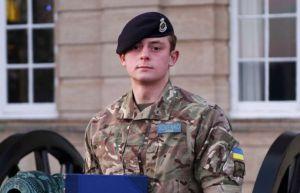 Антона Совенка визнали кращим випускником британської військової академії