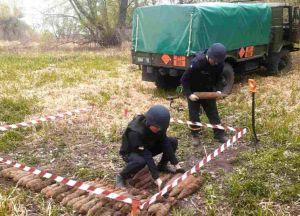 На Одещині рибалки «виловили» боєприпаси