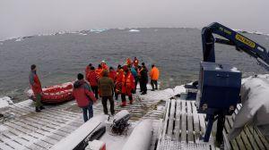 Антарктична експедиція прибула на станцію