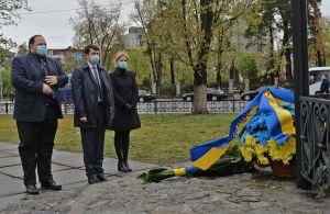 Голова Верховної Ради України вшанував пам'ять ліквідаторів Чорнобильської катастрофи