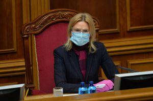 Олена Кондратюк: «Прем'єр-міністр має публічно представити на позачерговому засіданні парламенту план виходу з карантину та економічної кризи»