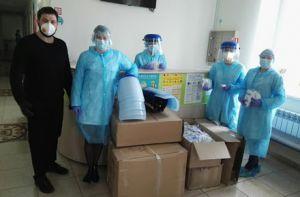 Житомир: Благодійники допомогли обладнанням і грошима