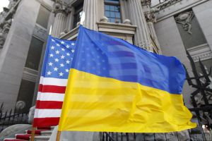 """We are determined to develop further strategic partnership between Ukraine and the United States"""