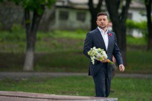 Президент на україно-російському кордоні вшанував пам'ять загиблих у Другій світовій війні
