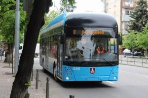 У Вінниці на маршрут вийшли ще два тролейбуси власного виробництва