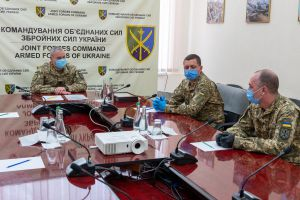 Командувач Об'єднаних сил привітав резервістів оперативного резерву з професійним святом