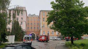 Был ли поджог Александровской больницы, разбирается полиция