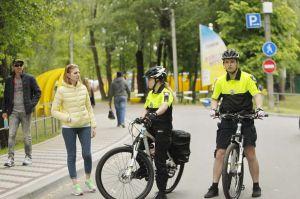 Велопатруль на улицах