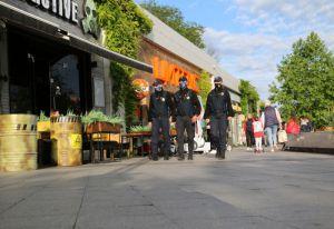 Туристическая полиция вышла на пляжи Одесской области