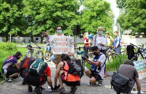 Велосипедисты требуют перемен