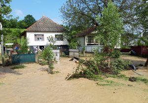Підтопило понад 40 дворогосподарств, зруйновано  чотири мости