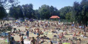 Сумы: Полгорода купается, а пляжей нет