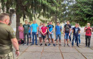 Каневские призывники пополнят ряды ВСУ