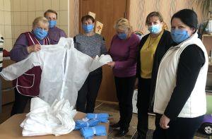 На Житомирщині жінки допомагають засобами захисту