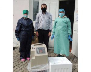 Кислородный концентратор для «инфекционки» в Моквине приобрели на пожертвования прихожан