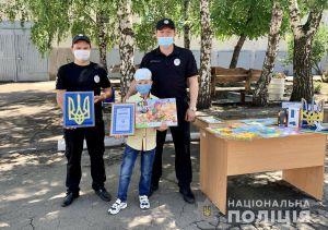 Юные художники вдохновили правоохранителей Донецкой области