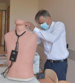 В КНУ открыли лабораторию симуляционного тренинга