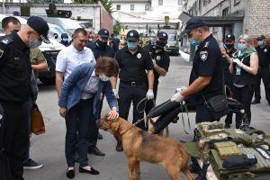 В Донецкой области силовики продемонстрировали технологии безопасности