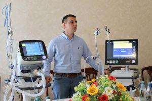 Житомир: Аппараты ИВЛ максимально подстраиваются под нужды больных