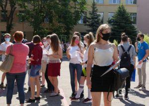 В Донецкой области ВНО проходит с соблюдением санитарных требований