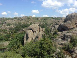 Каменный театр каньонов Николаевской области