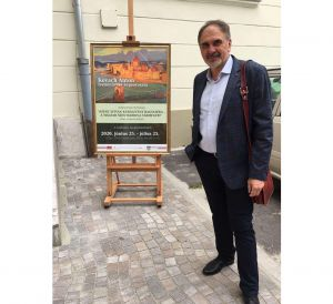 Полотна ужгородського митця побачать в Угорщині