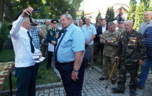 Тридцатилетний юбилей отметил Бердичевский союз ветеранов афганской войны