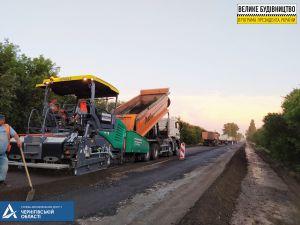 На Чернігівщині стартували масштабні дорожні роботи