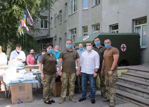 У Сєвєродонецьку військовому шпиталю передали гуманітарну підтримку