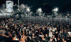 У Сербії намагалися взяти штурмом парламент