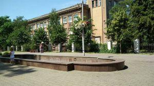 В Запорожье ограбили фонтан