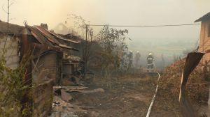 У Новоайдарському районі пожежу вдалося локалізувати