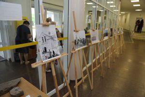 В Днепровском горсовете —  археологическая выставка