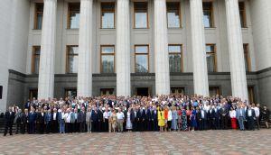 С принятием Декларации произошло  восстановление украинского парламентаризма
