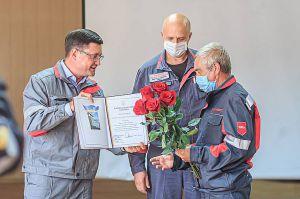 У Маріуполі відзначили трудові здобутки металургів
