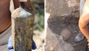 Знайдено пляшку часів Османської імперії