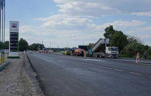 После длительного перерыва возобновили ремонт трассы М-12