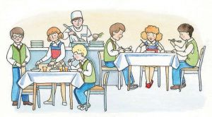 В столичной школе теперь современная столовая
