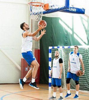 Баскетбол: Збірна готується  у столиці