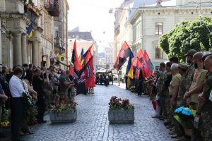 У Львові провели в останню путь легендарного комбата