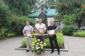 Полтава: У садибі класика віншували продовжувачів  його справи