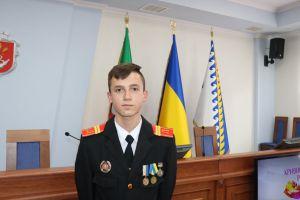 Самый молодой кавалер ордена «За мужество»