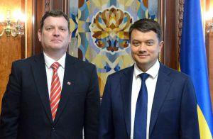 Дмитро Разумков: «Ми високо цінуємо підтримку Латвії  на міжнародній арені»