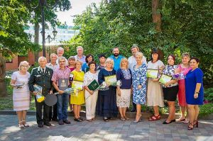 Полтава: Екологів відзначили у музеї
