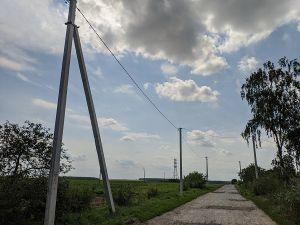 У селі Баболоки завершено реконструкцію електромереж