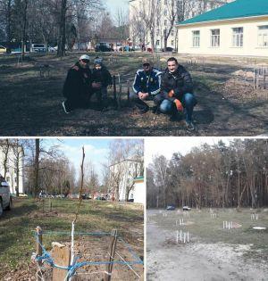 Черниговщина: А сад подрастает