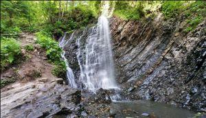 Ивано-Франковщина: Снова приглашает знаменитый Женецкий водопад Гук