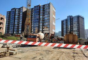 В Хмельницком обвалилась земля под многоэтажкой
