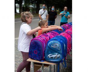 Закарпатье: Собрались на «Первый портфелик»